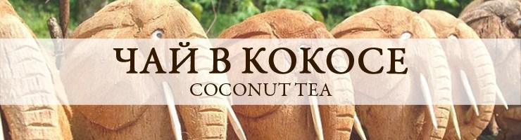В кокосовом орехе