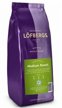 "Кофе в зернах Löfbergs coffee ""Medium Roast"" - фото 5002"