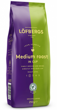 "Кофе молотый Löfbergs coffee ""Medium Roast In Cup"" - фото 5015"