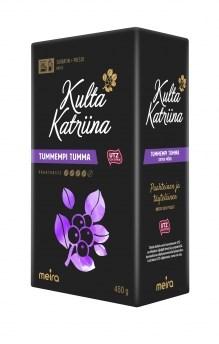 """Кофе молотый Kulta Katriina """"Tummempi Tumma №4"""" - фото 5762"""