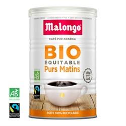"""Кофе молотый Malongo """"Purs Matins bio (Матан лежер)"""" - фото 6307"""