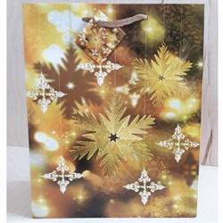 """Бумажный ламинированный пакет """"Новогодние мотивы"""" 26*32см. - фото 6638"""