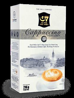 """Кофе растворимый Trung Nguyen """"G7 Cappuccino Hazelnut"""" (лесной орех) - фото 7323"""