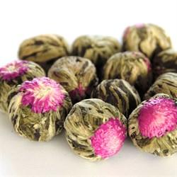 """Чай вязанный зеленый """"Хуа Ли Чжи (Жасминовый ли чжи)"""" - фото 7975"""