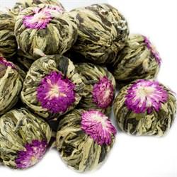 """Чай вязанный зеленый """"Юй Лун Тао (Нефритовый персик дракона)"""" - фото 7977"""