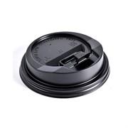 Крышка для одноразового стакана черная