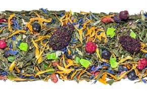"""Чай зеленый ароматизированный """"Сила тайги"""""""
