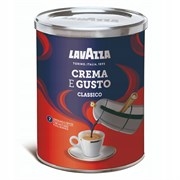 """Кофе молотый LavAzza """"Crema e gusto"""""""