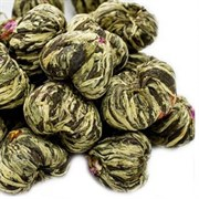 """Чай вязанный зеленый """"Священный плод с жасмином и ароматом кокосового молока"""""""